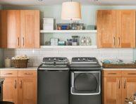 imagen Lavanderías para casas de estilo contemporáneo