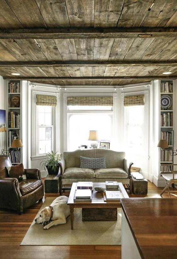 Los techos de madera crean espacios c lidos y acogedores - Techos de madera ...