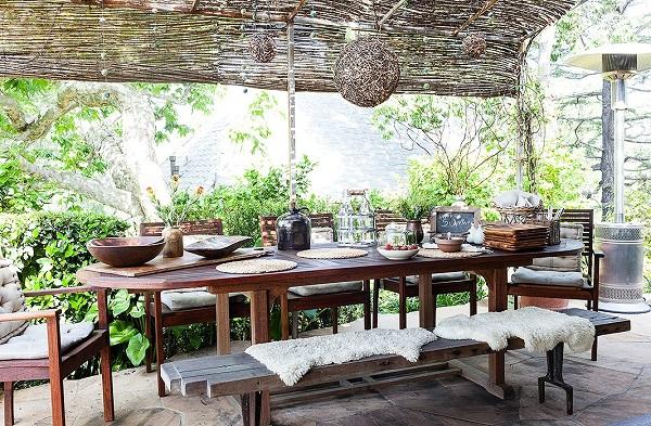 11 ideas para mejorar tu comedor exterior for Comedores exteriores para terrazas