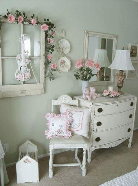 21 ideas para una habitaci n shabby chic - Dormitorio shabby chic ...