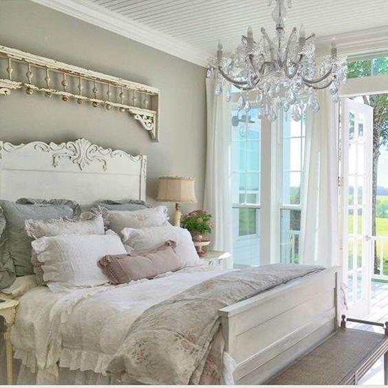 21 ideas para una habitaci n shabby chic for Ar 15 decorations