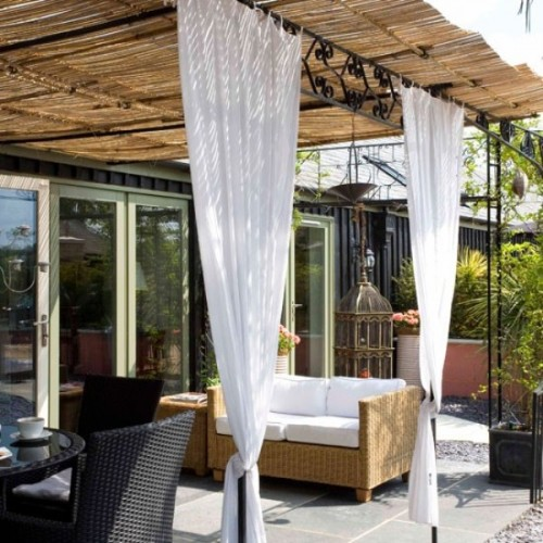 Ideas para decorar tu jardin con telas 03 gu a para decorar for Tela geotextil para jardines