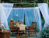 imagen Nada mejor que decorar con telas tu jardín