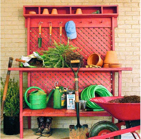 Ideas para una mesa de trabajo de jardiner a - Utiles de jardineria ...