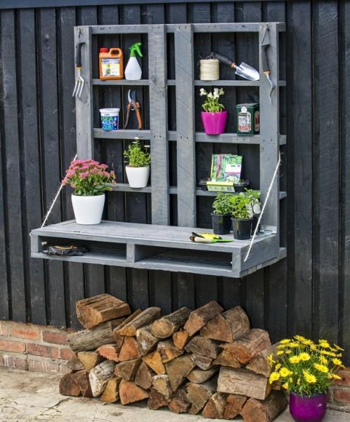 Ideas para una mesa de trabajo de jardiner a - Materiales de jardineria ...