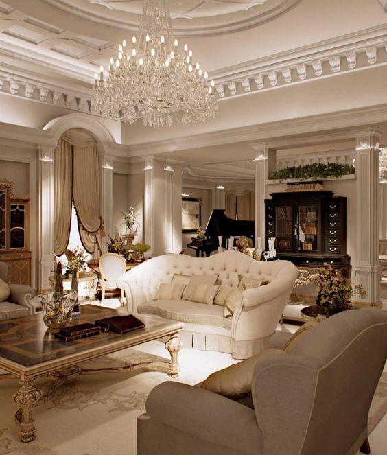 La belleza de los techos clásicos en la decoración