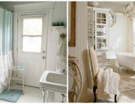 imagen 18 ideas adorables para un baño shabby chic