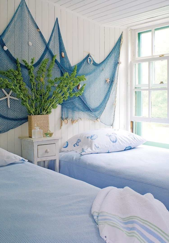 Aires marineros para decorar tu casa este verano - Maritime wandgestaltung ...