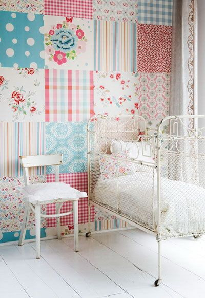 Decora tus paredes con patchwork - Estilo patchwork ...
