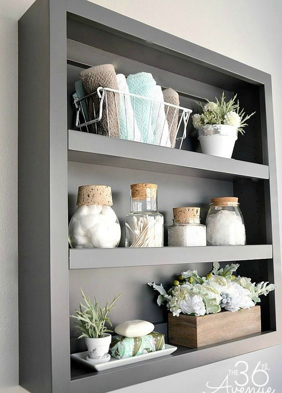 Armarios De Baño De Pared:Bathroom Storage Ideas