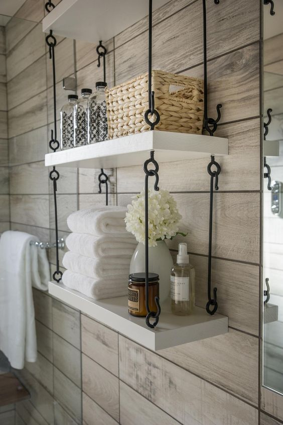 Armarios De Baño De Pared:HGTV Hanging Bathroom Shelves