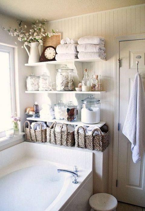 estanterias-y-armarios-para-el-cuarto-de-bano-06 | Guía para Decorar