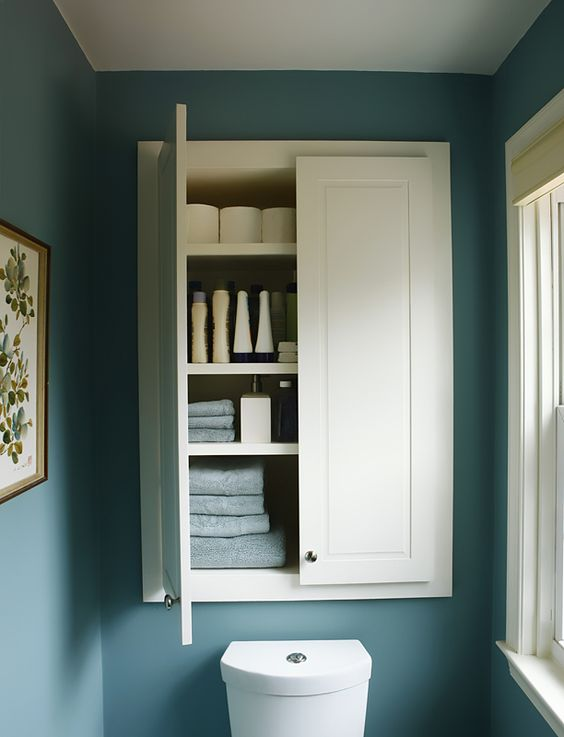Armarios De Baño Pared:Custom Built Storage Cabinets
