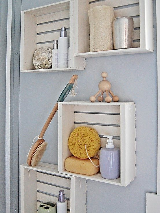 Armarios De Baño Colgados:Bathroom Wall Storage Ideas