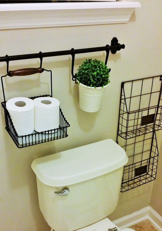 Estanterias Para El Baño:Pinterest Bathroom Storage Ideas