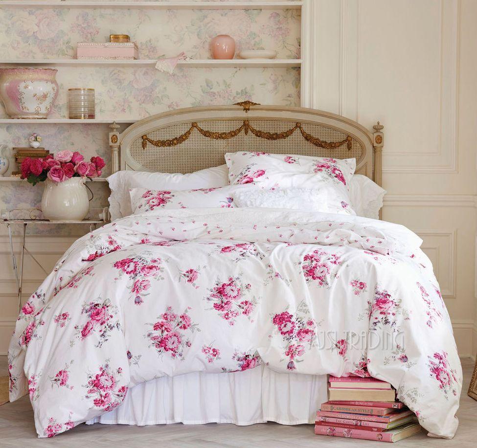 Ropa de cama para una habitaci n en estilo shabby chic - Ropa de cama zaragoza ...