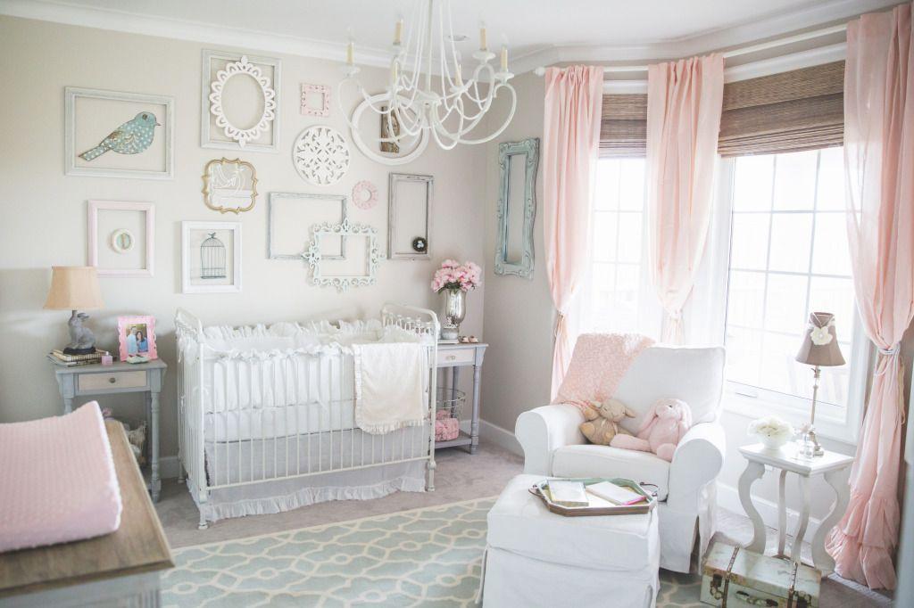 Estilo shabby chic para decorar habitaciones de beb s - Decorar estilo shabby chic ...