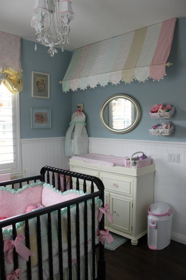 Shabby chic para habitaciones de bebe 05 gu a para decorar - Habitaciones shabby chic ...