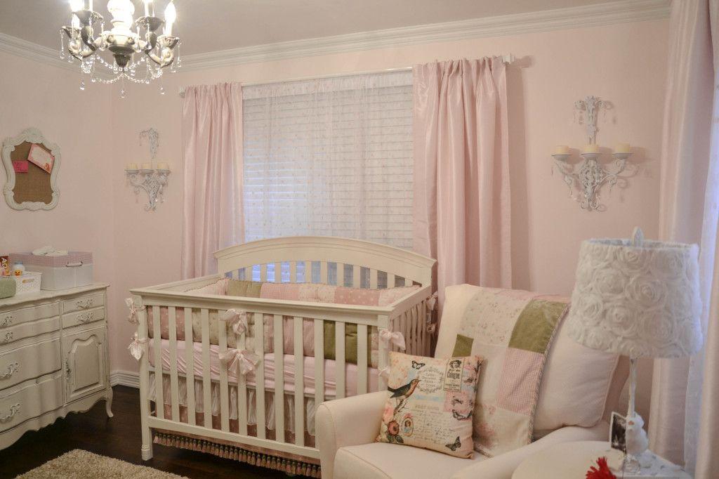 Estilo shabby chic para decorar habitaciones de beb s - Habitaciones shabby chic ...