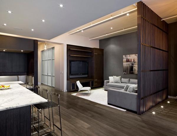 Ideas de separadores de ambientes para la sala de estar - Separadores de ambientes ...