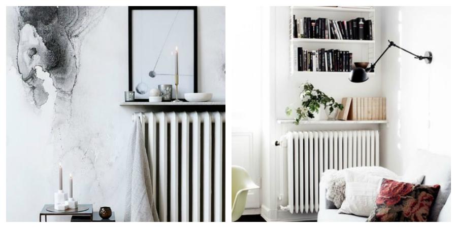 ideas diy para decorar los radiadores de la calefacci n