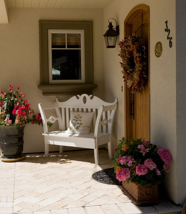 Ideas para decorar la puerta de entrada con plantas y flores How can i decorate my house