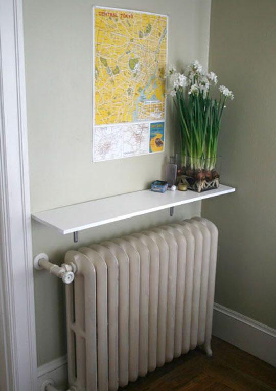 Ideas diy para decorar los radiadores de la calefacci n - Ideas para cubrir radiadores ...