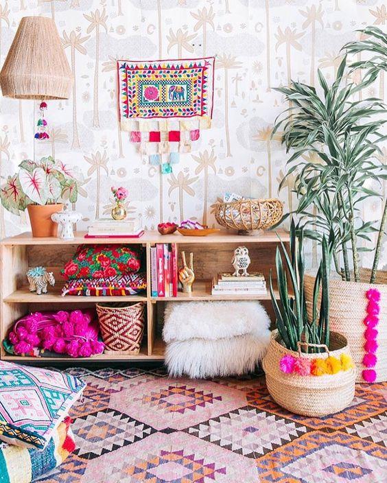 Ideas para decorar con cestas tu casa