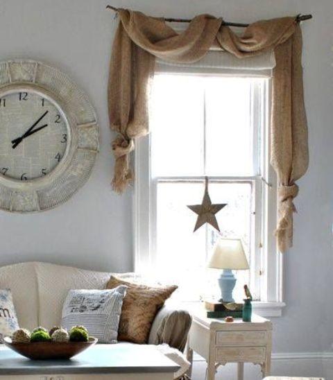 Ideas para decorar tu casa con tela de arpillera for Decora tu casa