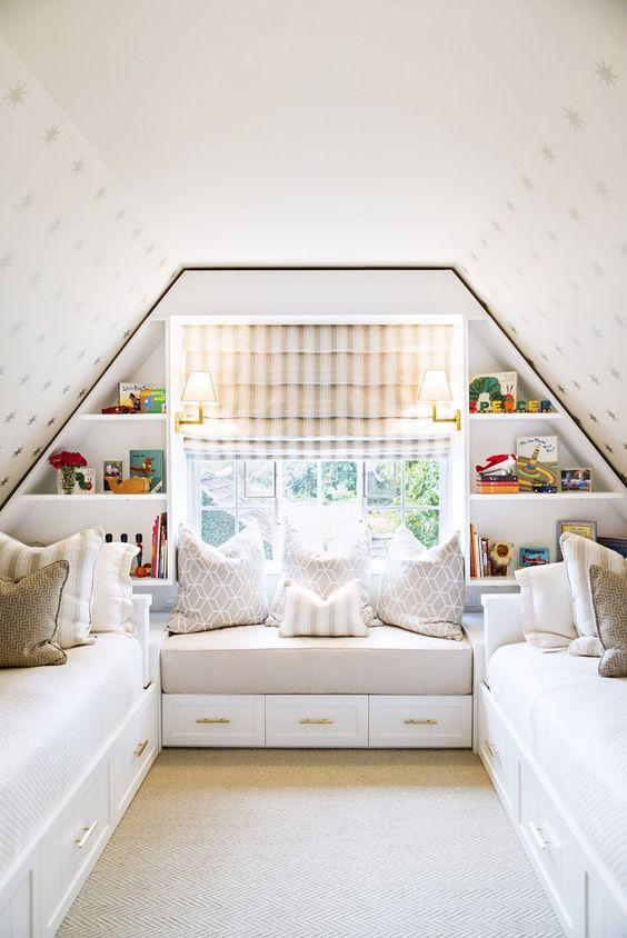 Encantadoras habitaciones abuhardilladas para ni os - Habitaciones infantiles para ninos ...