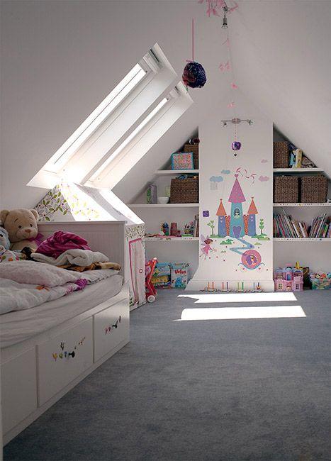 Encantadoras habitaciones abuhardilladas para ni os - Habitaciones abuhardilladas ...