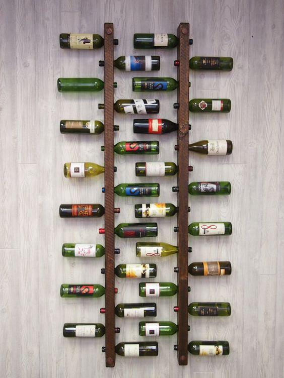 Ideas originales para almacenar vino en casa