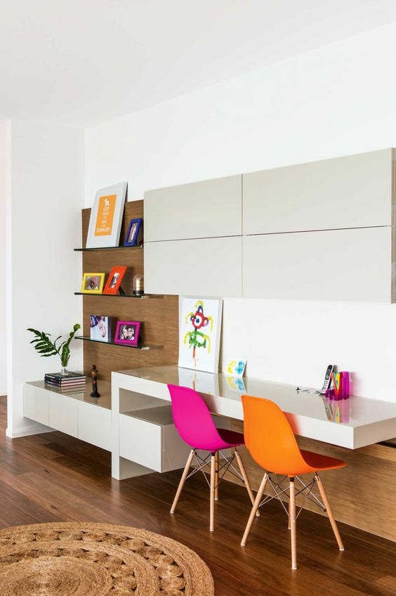Ideas para decorar zonas de estudio infantiles - Decorar habitacion estudio ...