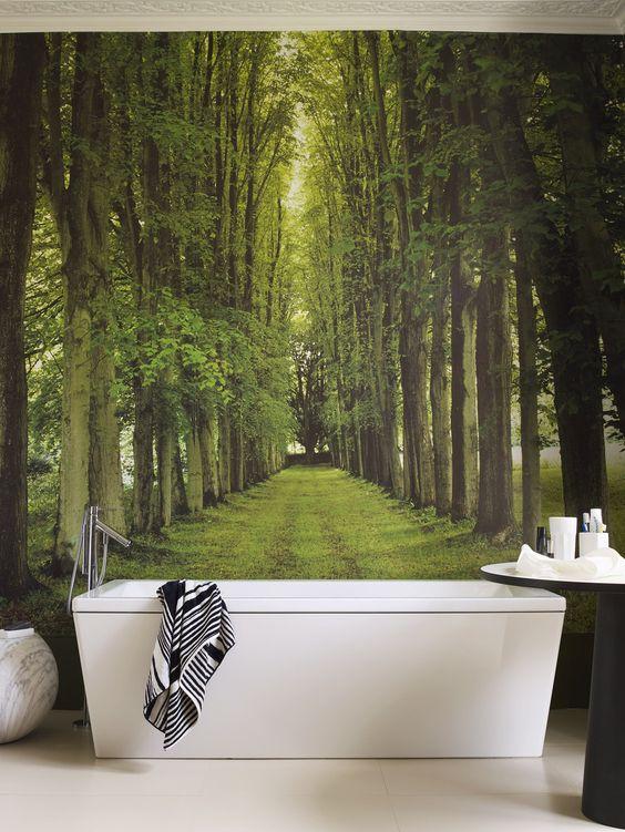Propuestas para decorar paredes con murales fotogr ficos for Murales fotograficos para paredes