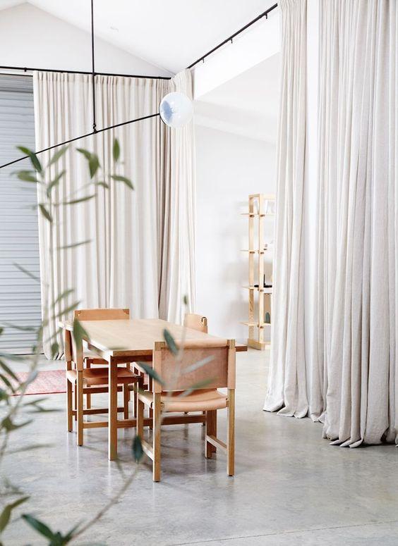 Cortinas ideales para separar ambientes de forma econ mica - Cortinas para baneras ...