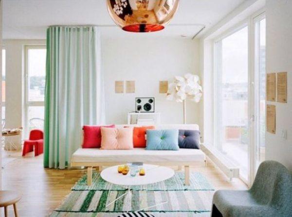 propuestas para separar ambientes con cortinas 17 - Cortinas Separadoras De Ambientes