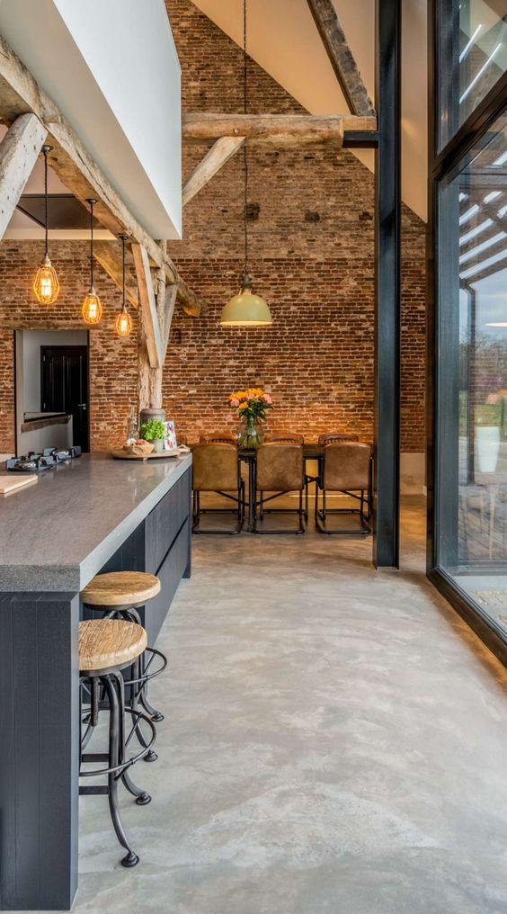 Conoce las ventajas y desventajas de los suelos de cemento for Suelos de cemento para interiores
