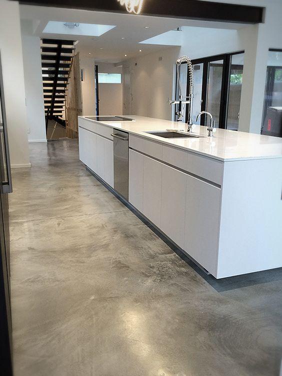 pros y contras de los suelos de cemento - Suelo Cemento Pulido