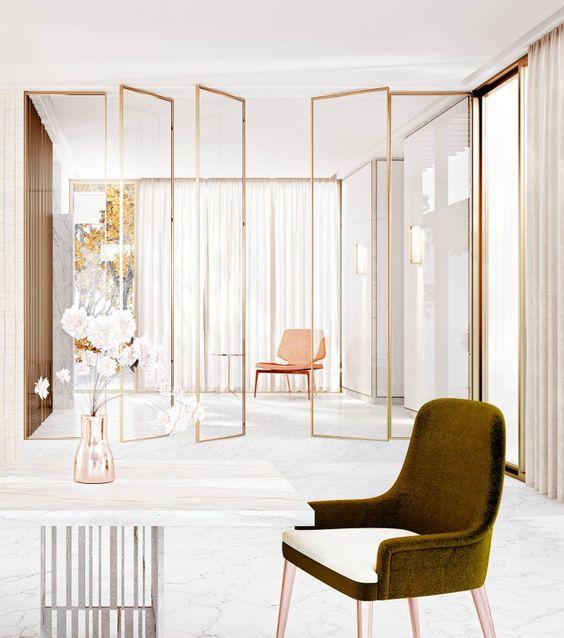 Aprende c mo separar los ambientes de casa con estilo for Separar ambientes