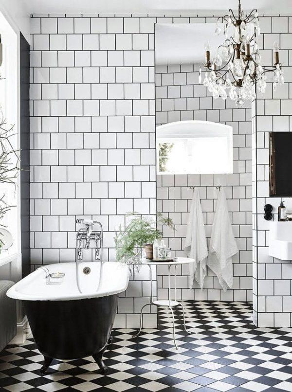 Lamparas Baño Vintage:si la decoración es de estilo retro o inspiración vintage también