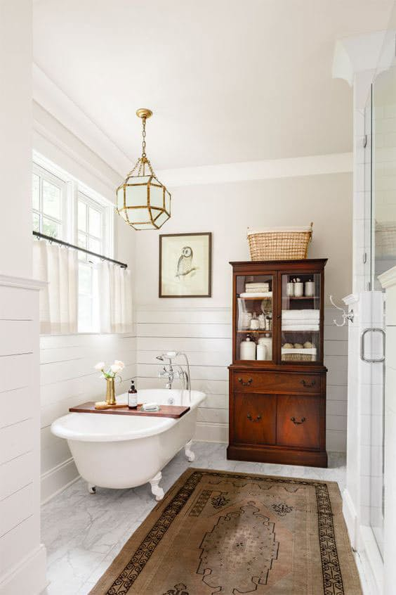 Ideas Para Master Bathroom : Iluminacion ba?o vintage dikidu