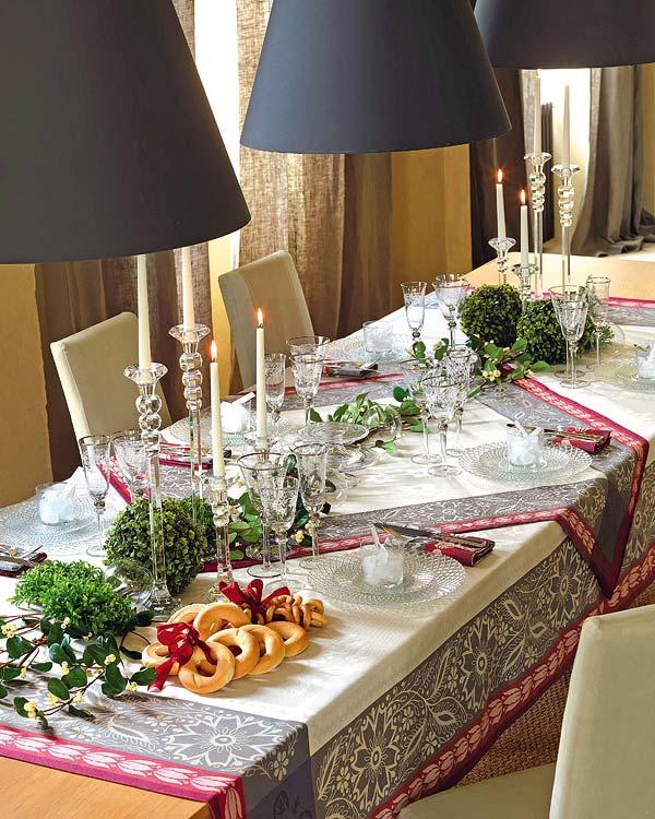 decora tu mesa de navidad con estilo
