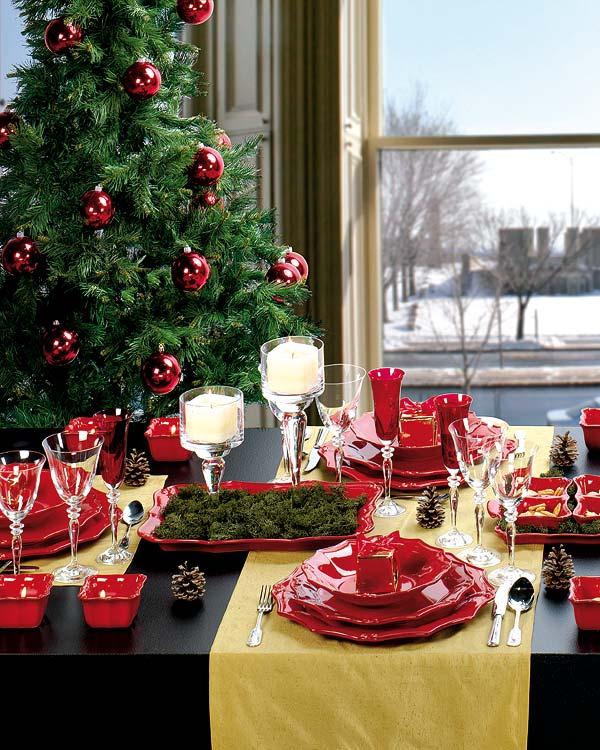 Decora Tu Mesa De Navidad Con Estilo - Decorar-mesa-para-navidad