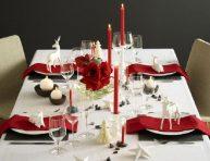imagen Ideas para una mesa de Navidad moderna y con estilo