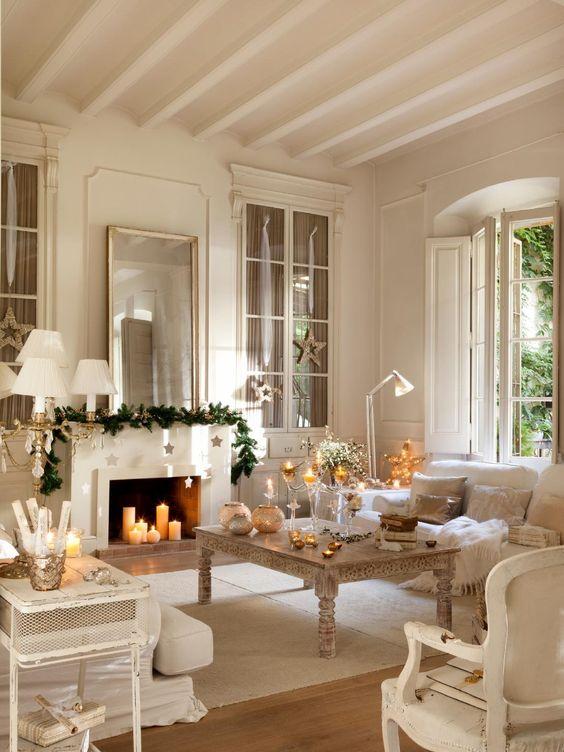 Propuestas para decorar tu sala de estar esta navidad for Decora tu sala moderna