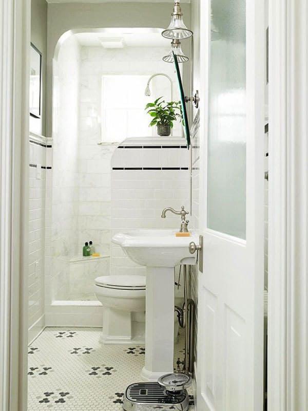 15 cuartos de ba o peque os con mucho estilo On cuartos de bano pequenos con banera