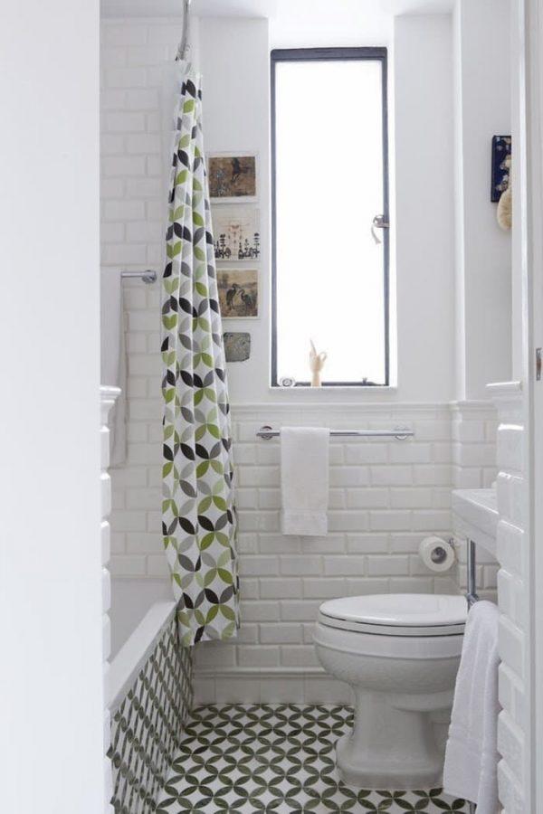 15 cuartos de ba o peque os con mucho estilo - Azulejos para cuartos de bano pequenos ...