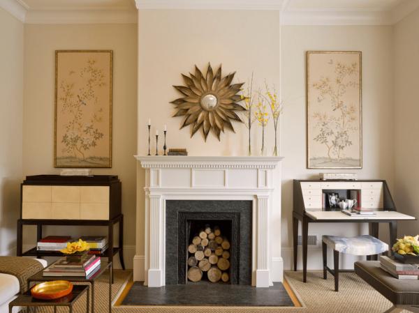 28 ideas para decorar la chimenea de casa - Chimeneas de adorno ...