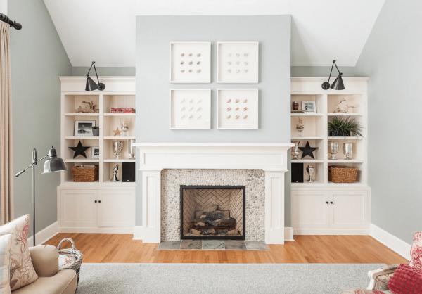 28 ideas para decorar la chimenea de casa