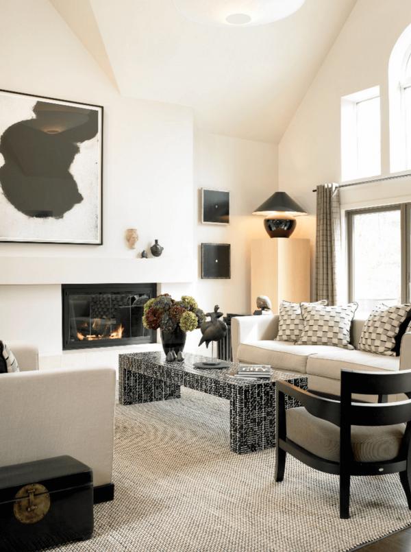 28 ideas para decorar la chimenea de casa - Chimenea de pared ...